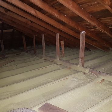 Step 2: Spray Foam Insulation